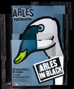 Arles in black