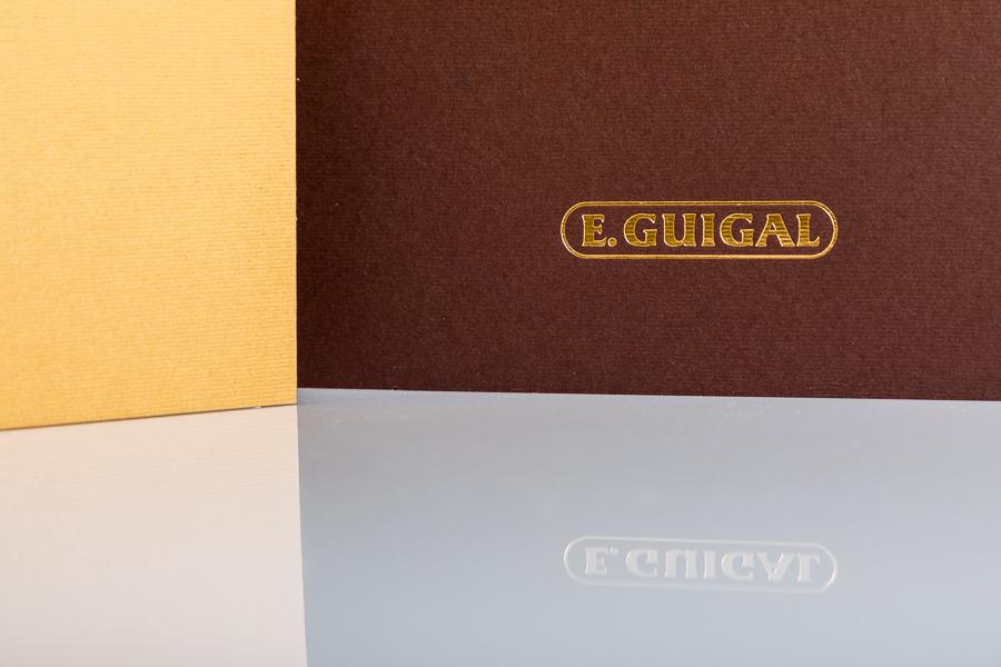 Brochures Domaine Guigal et Château de Nalys